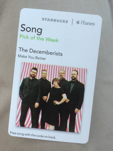 Starbucks iTunes Pick of the Week - The Decemberists - Make You Better