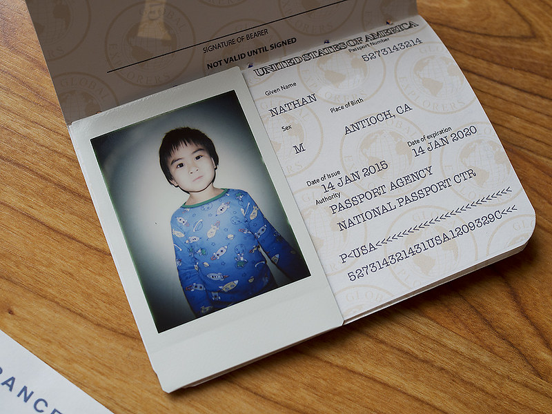 Nathan's passport
