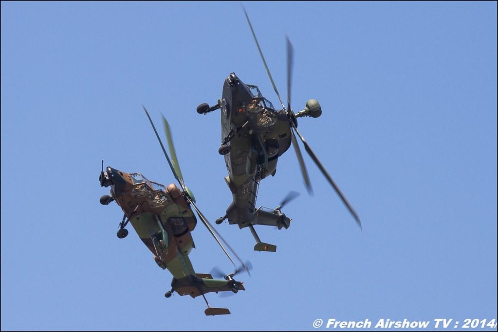 patrouille tiger EC-665 Tigre HAP - EC-665 Tigre UHT Meeting des 60 ans de l'ALAT 2014 ,Cannet des Maures
