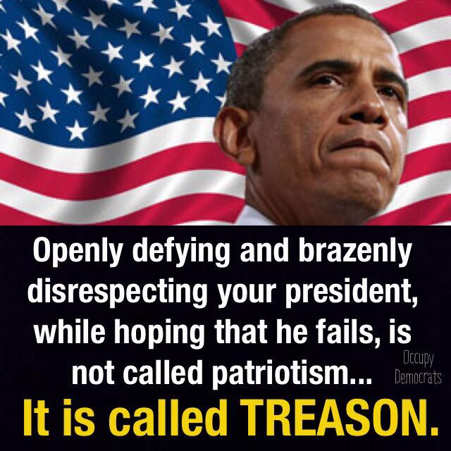 occupy democrats treason image