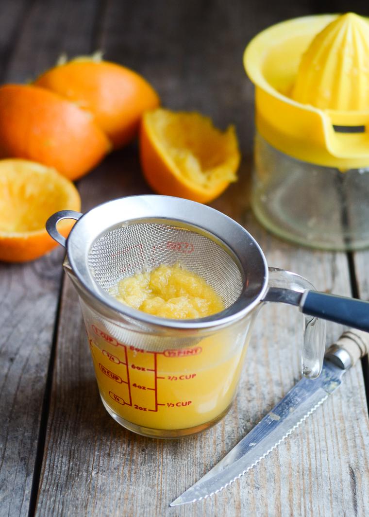 Orange Scones - Buttered Side Up