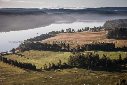 sverige swe västragötaland bengtsfors flygfoto ärtingen tormansbyn