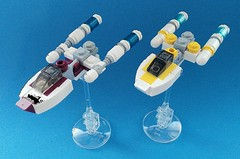 Happy Star Wars Day. Microscale Y-wings.