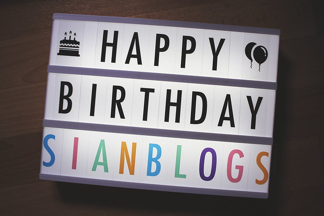 Happy Birthday SIANBLOGS