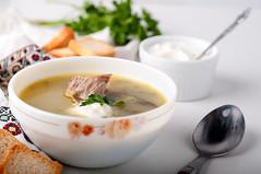 Delicious green soup