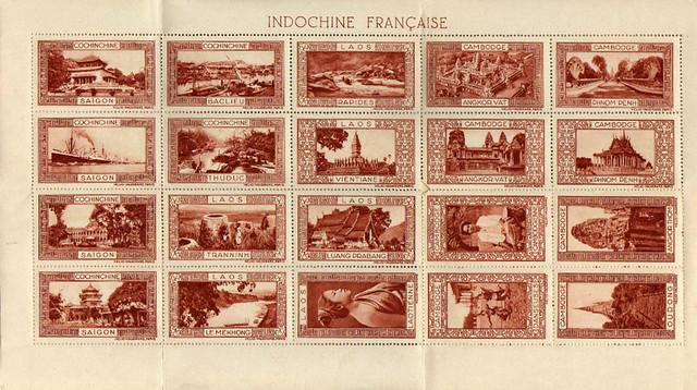 Bộ tem kỷ niệm Đông Dương (1950)