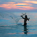 Net fishing after sunset at Siesta Key, Florida (On Explore 5/22/2016) by die Augen