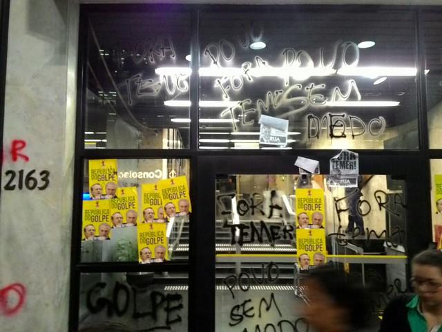 Marcha contra Temer leva mais de 35 mil para a Avenida Paulista