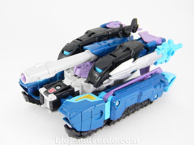 Transformers Doubledealer Voyager - Generations - modo tanque