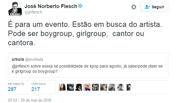 Show de K-Pop no Rio de Janeiro? Saiba as novidades.