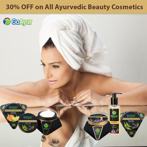 30% OFF on All Ayurvedic Beauty Cosmetics