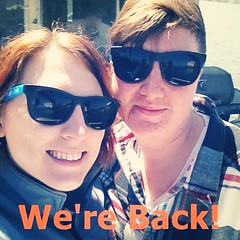 Sorry for the radio silence! Rose is doing artsy things and Heather was out of town. We\'re Back! #offseasonslump