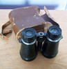 Vintage binoculars with original case