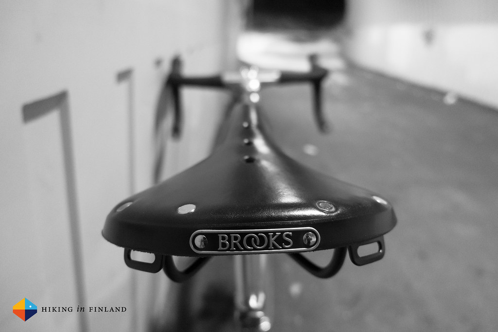 A Brooks B17 Saddle