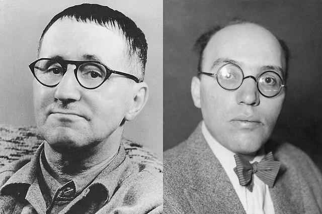 Bertolt Brecht and Kurt Weill (Creative Commons)