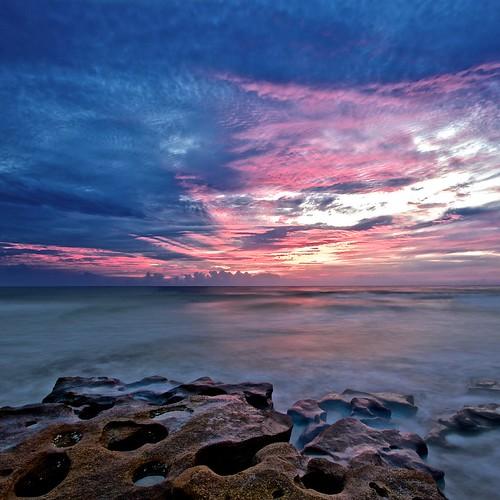 sunrise rocks flickr florida fl atlanticocean toprint coquina flaglercounty flaglerrivertoseapreserve