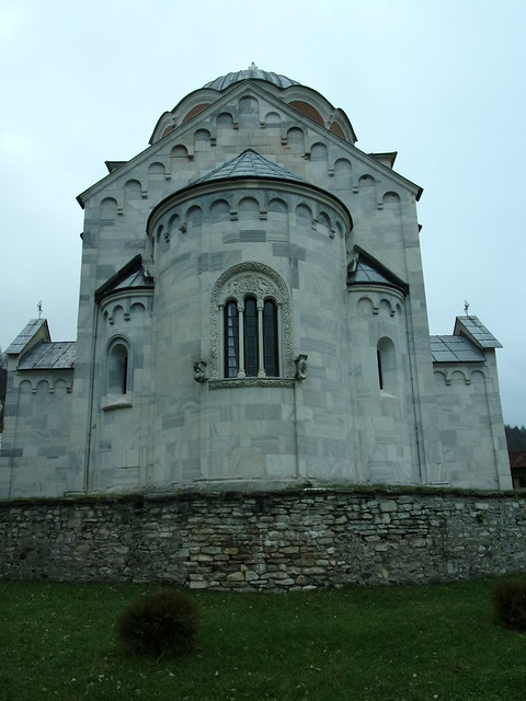 East End, Church of the Virgin, Studenica Monastery