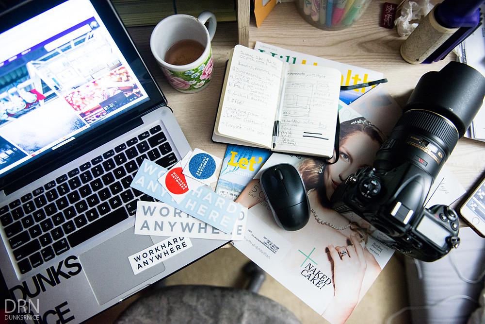 Work Desk.