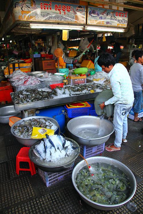 Seafood-Stall
