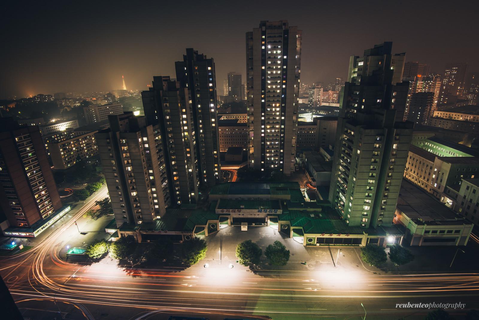 Pyongyang Night View