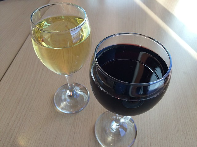 Red and white wines - KC Cafe