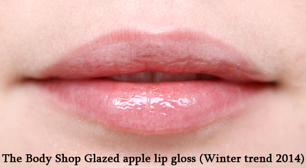 Glazed apple