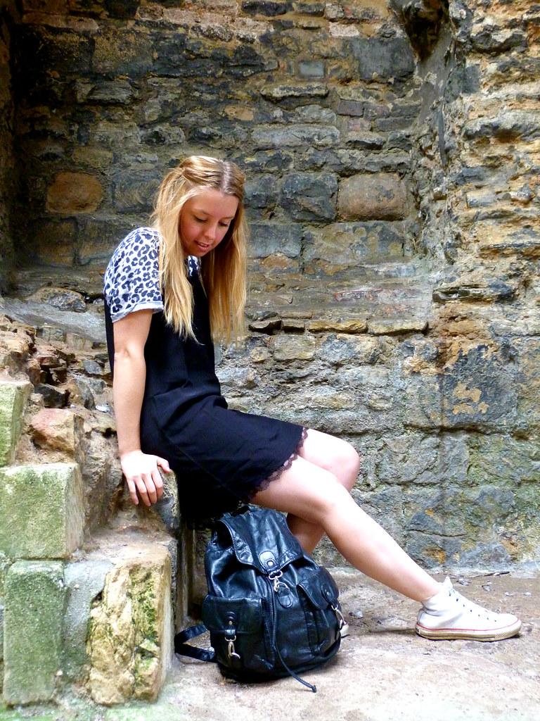 Jazzpad   Fashion blogger   underwear as outerwear