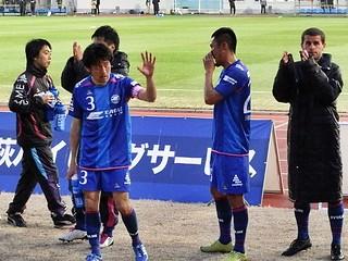 2007年まで東京ヴェルディに所属した藤田泰成選手の姿も