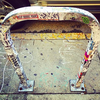 Bicycle Rack Found Art in Lower Haight