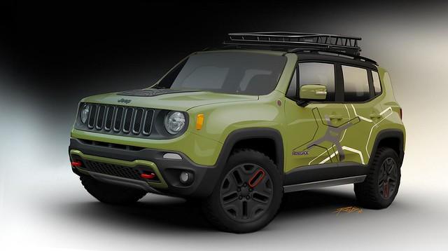 Jeep Renegade Mopar Editions
