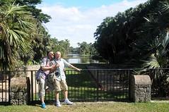 Pierre et Bernard au jardin botanique