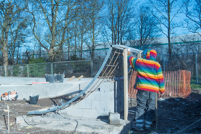 Dunstable Skatepark Build 2015 Week-8