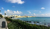 Otranto harbor and beach