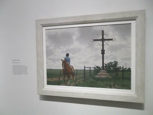 "Alex Colville, ""French Cross"" (1988)"