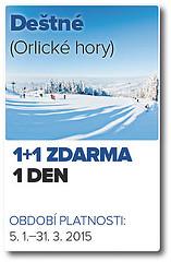 vyměním SKIPAS ZDARMA - Deštné,SNOW 85 - titulní fotka