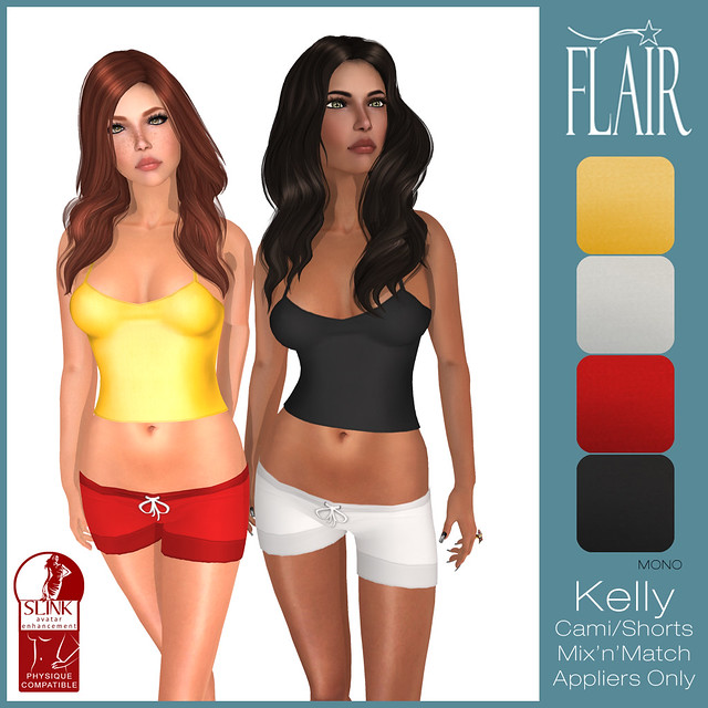 Flair - Kelly Cami Shorts set - Mono