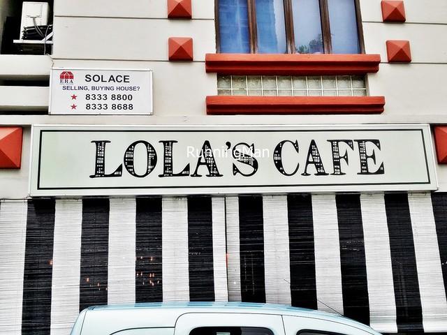 Lola's Cafe Signage
