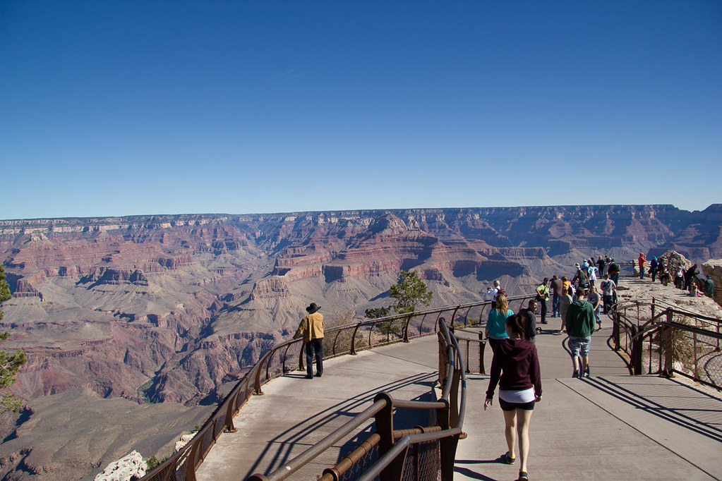 Mather Point at the Grand Canyon