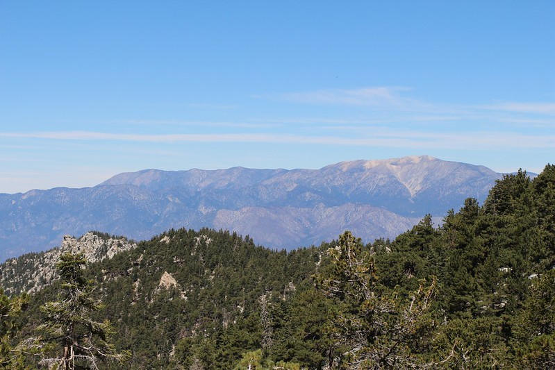 San Gorgonio Mountain to the north