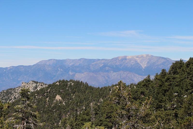 San Gorgonio Mountain to the north