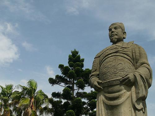 鄭成功。圖片來源:Chao-Wei Juan