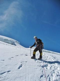 Rafael Descending Cotopaxi