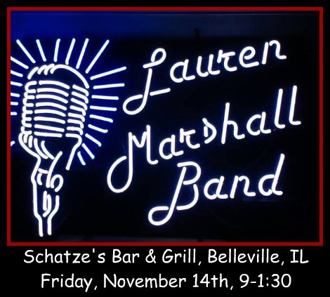 Lauren Marshall Band 11-14-14