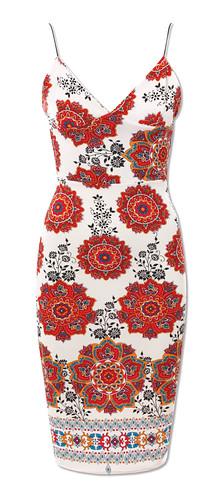 WAHINE LOVE_red mandala dress
