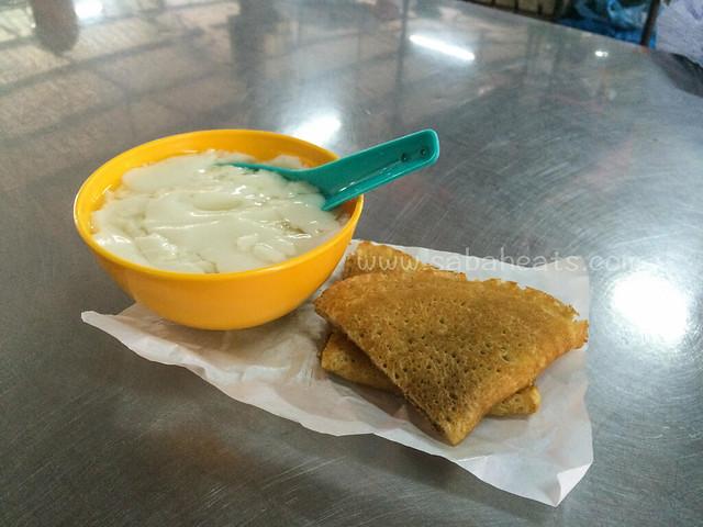 Sandakan Kim Fung Market food