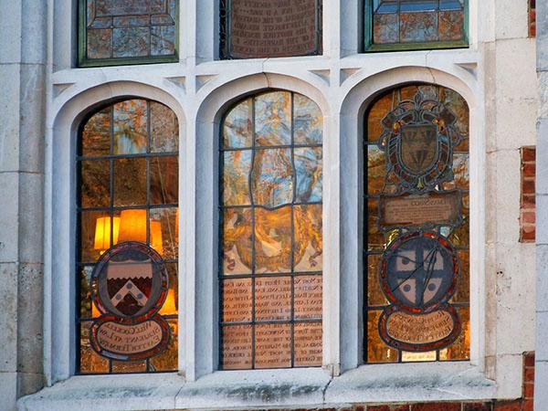 vitraux à gray's inn