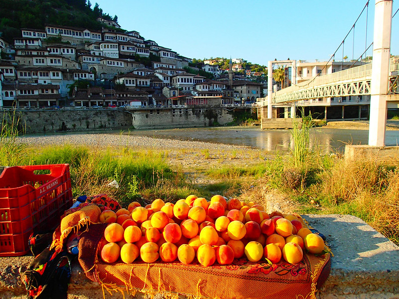 Berat, Albania, Adriatic Sea Coast