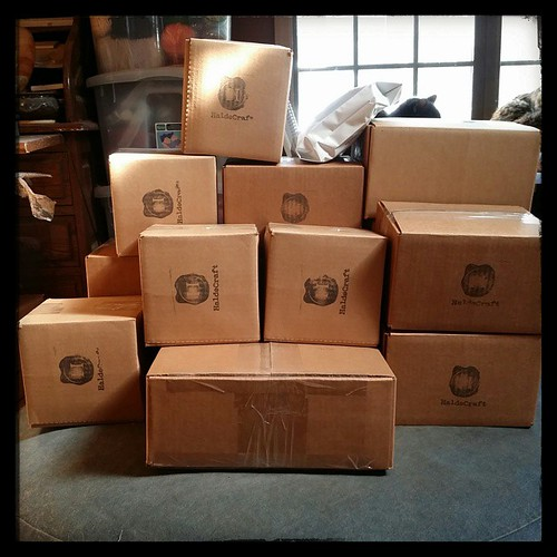 I think today calls for USPS home pickup. ;-) #craftlife