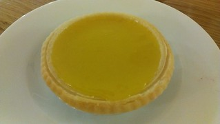 Lemon Tart at Loving Hut Northcote
