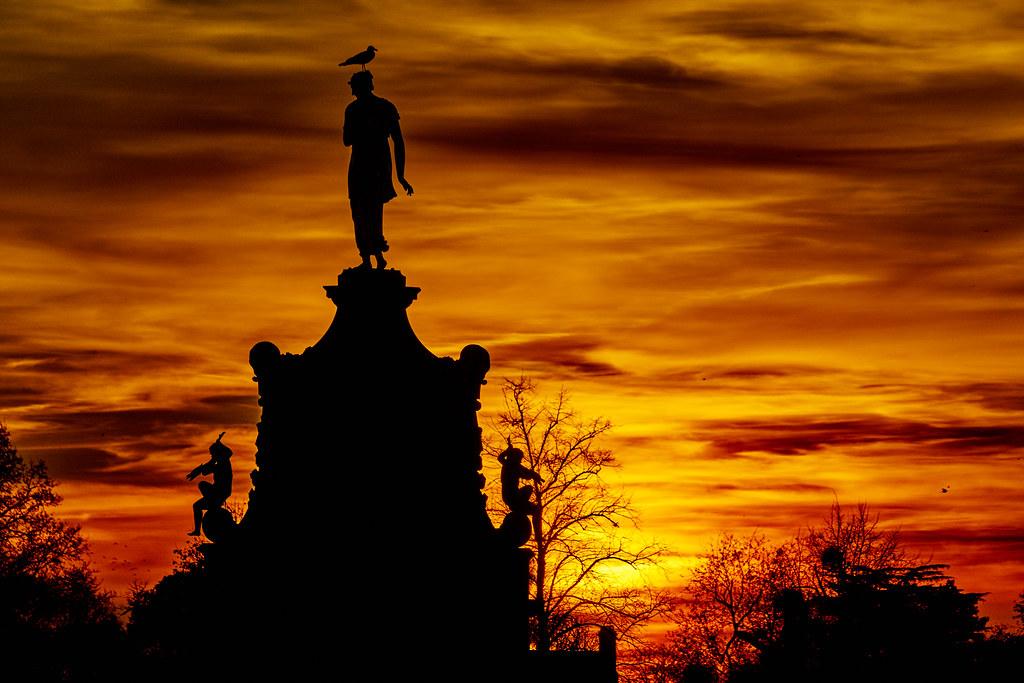 Arethusa At Sundown